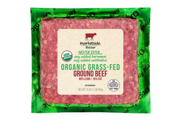 Marketside Organic Grass-Fed Ground Beef