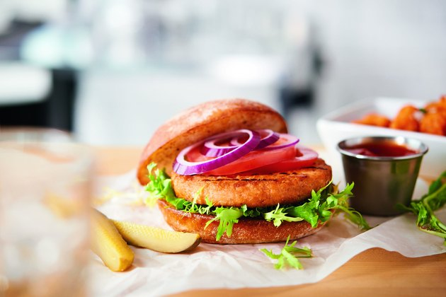 Trident Seafoods Salmon Burgers