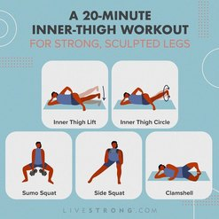illustration of person doing inner thigh workout