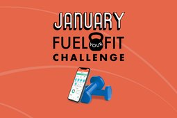 MyPlate and LIVESTRONG.com Fuel-Your-Fit Challenge logo