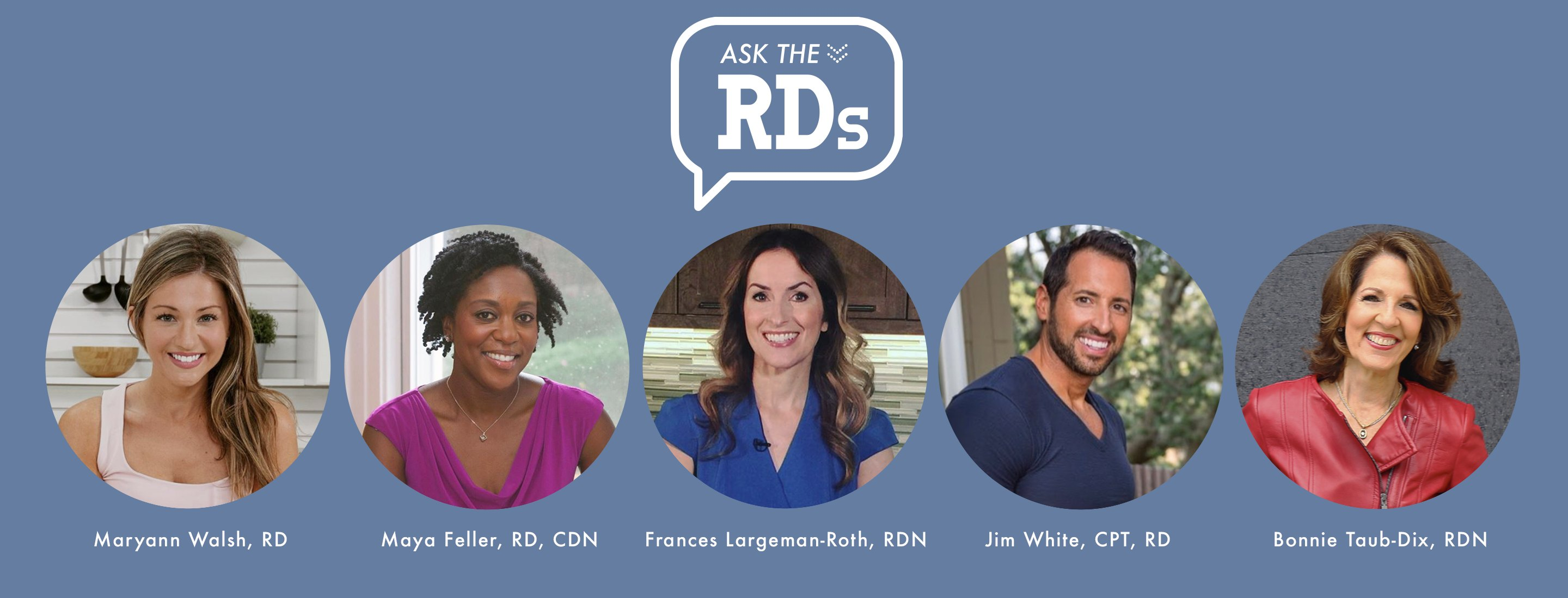 panel of registered dietitians for Ask the RDs