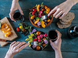Plant-based, vegan and vegetarian diet foods