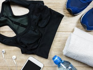 Running gear laid out on the table