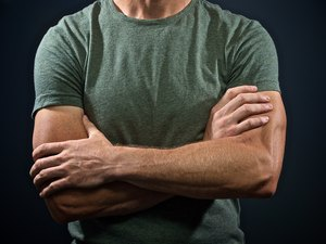 Muscular Arms Crossed