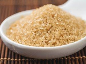A bowl of brown sugar