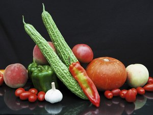 Fruit And Vegetable,Still Life