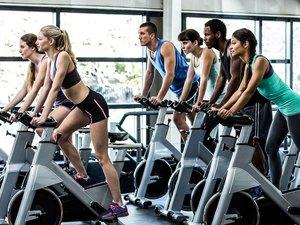 calorie burning exercises cycling biking running jogging