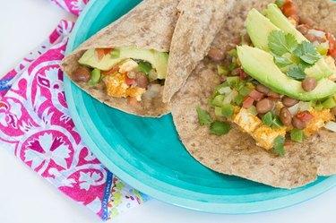 Spicy Breakfast Burrito vegan breakfast recipes