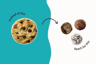 healthy junk food energy bites