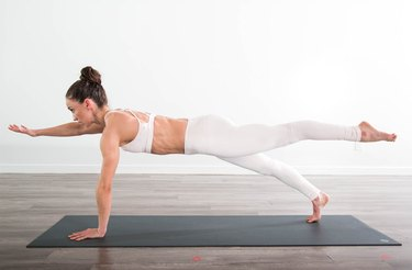 Plank - Strengthens Core and Back, Improves Balance and Posture