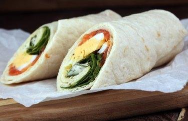 high fiber lunches Rainbow Sandwich Pinwheels