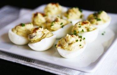 Avocado and Yogurt Deviled Eggs Egg Recipes