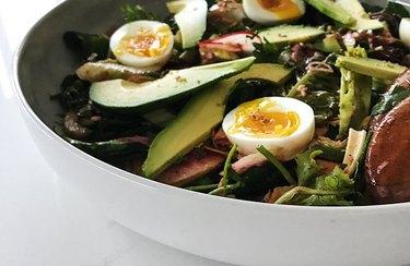 Green Eggs and Kale Salad Egg Recipes