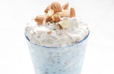 Almond Bran Crunch - protein breakfast