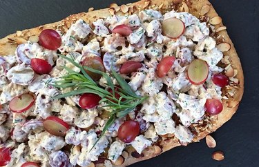 Chicken Salad Pizza healthy lunch recipes
