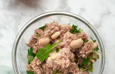 White Bean Tuna Salad healthy lunch recipes