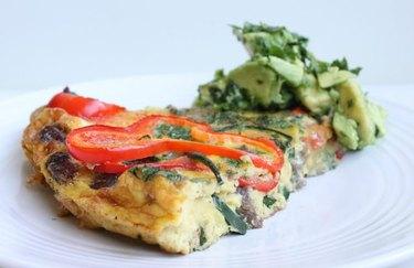Fajita Frittata with Avocado Salsa Jalapeno Recipes