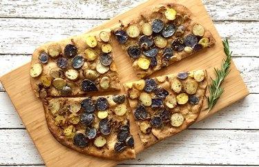 Rosemary Pizza Patate Healthy Pizza Recipes