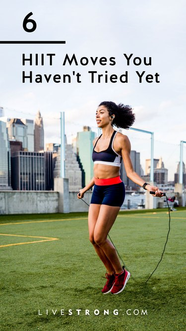 6 HIIT moves you haven't tried yet graphic