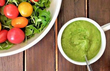 Green Goddess gluten-free salad dressing recipe