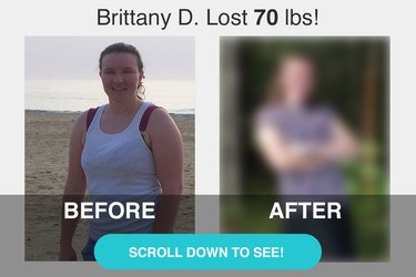Brittany D. lost 70 pounds.