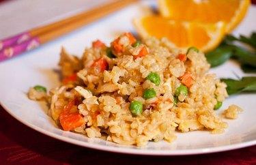 Turkey Fried Rice 20-minute dinner recipe.