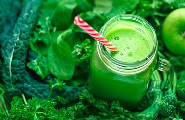 vegetable smoothie recipes Super Green Smoothie
