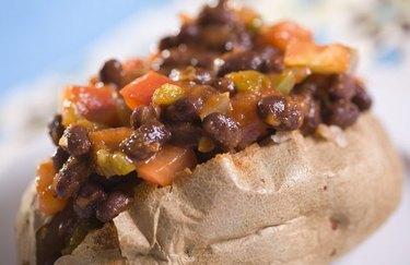 Vegetarian Chili Potato