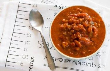 Turkey Cashew Chili healthy lunch recipes