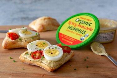 Spicy Avocado Hummus Trader Joe's Grocery list
