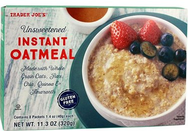 Unsweetened Instant Oatmeal Trader Joe's Grocery list