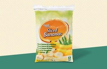 Great Value Sliced Bananas