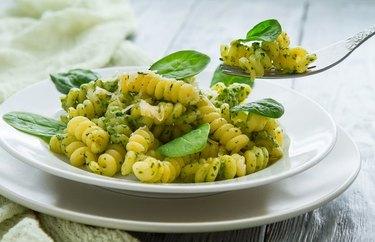Power Pesto Pasta Salad 300 Calorie Pasta Recipe