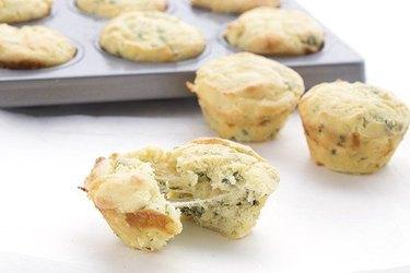 Cheesy Garlic Bread Muffins keto recipes keto muffins
