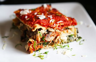 Healthy comfort food recipes lean lasagna