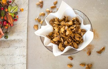 Sweet and Spicy Pumpkin Seeds pumpkin seed recipes