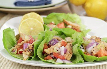 Roasted Chicken Lettuce Wrap weight loss recipes