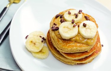 filling breakfast recipes Peanut Butter Protein Pancakes