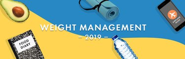 illustration of weight management research in 2019