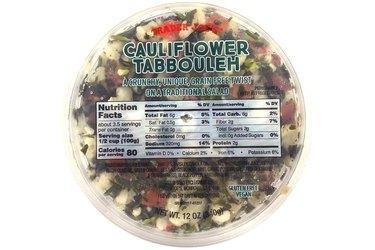 Trader Joe's Cauliflower Tabbouleh
