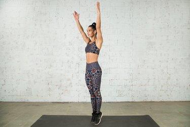 Vanessa Villegas demonstrates the total-body extension