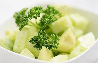 homemade salsa recipe Cucumber and Avocado Salsa