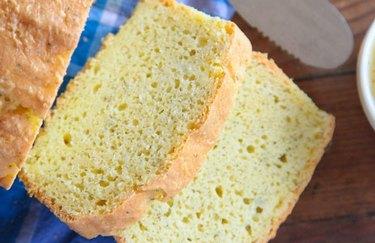 Garlic, Dill & Cheddar Keto Bread Keto Friendly Flours