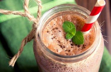 High-Protein Chocolate Breakfast Smoothie Keto Friendly Flours