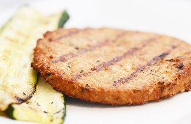Zucchini Veggie Burger Meatless Recipes plant-based recipes