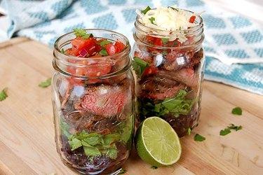Steak Burrito Jar