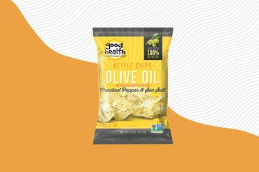 Good Health Olive Oil Cracked Pepper & Sea Salt