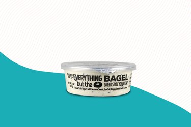 Everything But the Bagel Greek Yogurt Dip