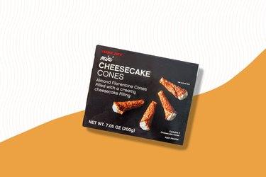 Mini Cheesecake Cones