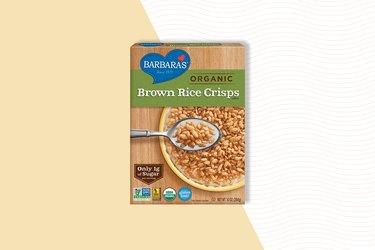 barbara's organic brown rice crisps gluten-free rice cereal